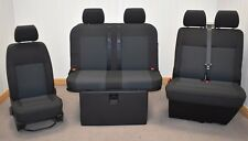 STREAMLINE 3/4 M1 TESTED ROCK N ROLL BED + VW T5 FRONT SEAT UPHOLSTERY (700C+DD)