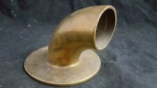 Vtg Unknown Bronze Cowl Boat ship Vent Flange submarine nautical salvage (YL)