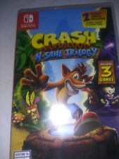 Crash Bandicoot N Sane Trilogy Standard Edition - Nintendo Switch .