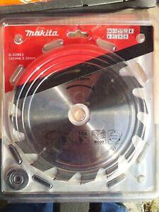 Lame Scie Circulaire Makita 185 X 30 X 2 mm
