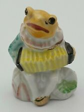 """Vintage Frog Figurine Playing Accordian Made in Japan 3"""" Tall"""