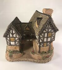 David Winter's Tudor Manor House 1981 Collection Hand Made & Handpainted Vintage