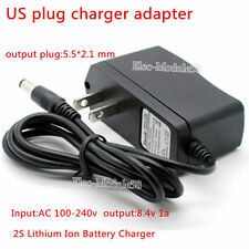 US plug charger adapter 2S 8.4V 7.2V 7.4V 1A AC-DC Lithium Ion Battery Charger
