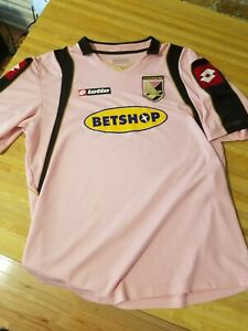 Palermo 2008/09 Official Lotto Home Jersey Size XL Pink