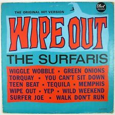 SURFARIS Wipe Out LP (MONO) 1963 SURF VG+  VG++