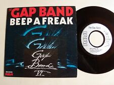 "THE GAP BAND : Beep a freak b/w dub version 7"" 45T 1984 French RCA PB 61550"