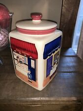 Limited Edition Handmade for Nonni's Biscotti Italian Cafe Canister/Cookie jar