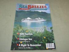 **LOOK* SEA BREEZES MAGAZINE Issue July 2002 - Ships & Sea Maritime HMS Fearless
