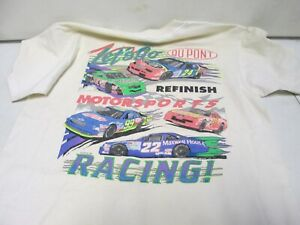 1993 Let's Go Dupont T-Shirt Signed by Jeff Gordon