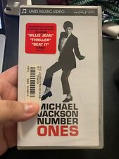 PSP UMD PlayStation Portable Movie Michael Jackson Number Ones. Brand New Sealed