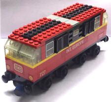 1x Lego® System DB 727 Int. Europe E-Lok rot 12V Zug Eisenbahn