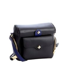 REBECCA MINKOFF Black Leather 'craig' Crossbody Camera Bag