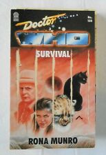 Doctor Who Survival by Rona Munro, science fiction paperback book