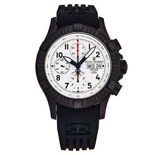 Revue Thommen Men's Airspeed Silver Dial Rubber Strap Automatic Watch 16071.6873
