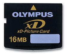 GENUINE OLYMPUS 16MB XD MEMORY CARD STANDARD TYPE FOR FINEPIX/OLYMPUS CAMERAS