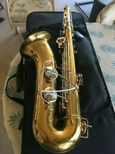 "BUNDY SELMER TENOR SAXOPHONE  - SERVICED, READY TO PLAY! ""And it Plays Great""!"