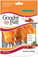 Healthy Hide Good 'N' Fun Triple Flavor Wings For Dogs