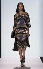 NWT BCBG Max Azria Runway Saara Silk Dress Size Small $598