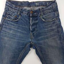 G-Star Raw NEW RADAR Womens Jeans W29 L30 Blue Slim Fit Straight Mid Rise