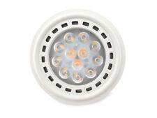 Lampada Faretto Led Da Incasso AR111 G53 12W DC 12V Bianco Caldo Spot 20 Gradi A