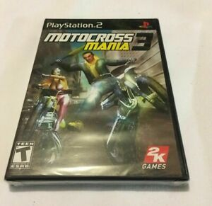 Motocross Mania 3 Game For PS2 Playstation  PLASTIC OPEN ON TOP  Brand New