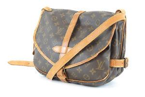 LOUIS VUITTON Saumur Monogram Shoulder Bag M40710