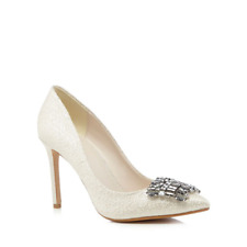Jenny Packham Ivory & Silver Bridal Shoes Size 6 / 39 Brand New RRP £89