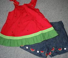 NWT Gymboree Watermelon Shirt Short Set - Size 12