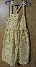NWT Vintage GYMBOREE Yellow Strawberry Patch Sundress Dress Girl size 8 HTF