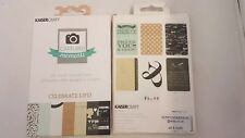 """Kaisercraft Journaling Cards Captured Moments Pocket Page 3""""x4"""" 4""""x6"""" new"""
