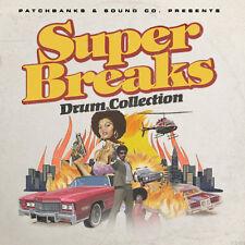 Super Breaks - Original Drum Break Loops For Akai MPC, Logic, Pro Tools