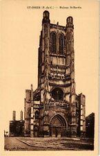 CPA Saint-OMER-Ruines St-Bertin (268256)
