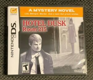 Hotel Dusk: Room 215 (Nintendo DS, 2007) Complete CIB Tested Working