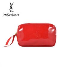 Ysl Red Makeup Cosmetics Bag, Small Size, Brand New!