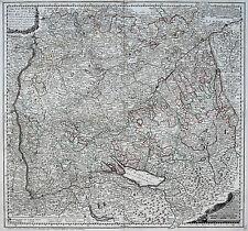 Ansichten & Landkarten von Deutschland aus Schweiz mit Kupferstich