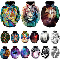 Men Women's Hoodie 3D Print Sweater Sweatshirt Jacket Coat Pullover Graphic Top