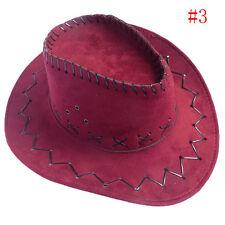 1pc Men Women Wild West Fancy Cowgirl Cowboy Hat Headwear Cap