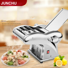 110V Electric Dumpling Dough Skin Noodles Pasta Maker Making Machine 3-knif Type
