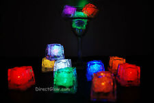 Set of 12 Litecubes Brand Assorted Light up LED Ice Cubes