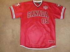 Fubu 05 The Vintage Canada Collection Baseball Style Jersey-Adult L
