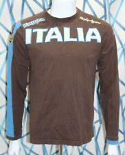 Kappa Italia (Italy) FIR Cariparma Rugby Brown Long Sleeve Shirt SZ M