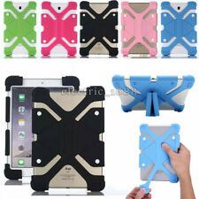 """Universal Shockproof Silicone Case Cover For 7""""-10.1"""" iPad Samsung Galaxy Tablet"""