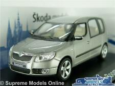 SKODA ROOMSTER MODEL CAR 1:43 SCALE ABREX GREY METALLIC ESTATE K8