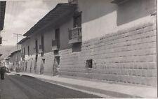 B78542 muro incaico en la calle de sanaugusti cuzco  peru  scan front/back image