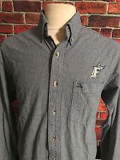 Gear For Sports Men's XL Long Sleeve Button Front Shirt Florida Marlins Logo
