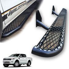 Fit 12+ Ford Ranger Side Step Bar Running Board black 4 door 2/4WD Pair