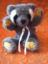 """Mary Meyer  Raccoon Soft Toy 11"""" approx VGC"""