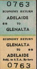 Australia Tickets/Stubs Railwayana