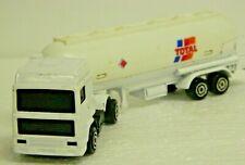 Vintage Majorette # 324 Volvo Propane Tanker Truck White 1/100 Sc Small Chips\