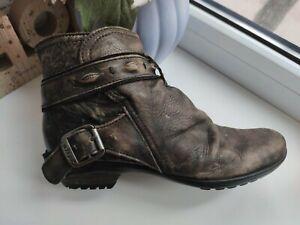 atrai Women Leather Boots Size UK7